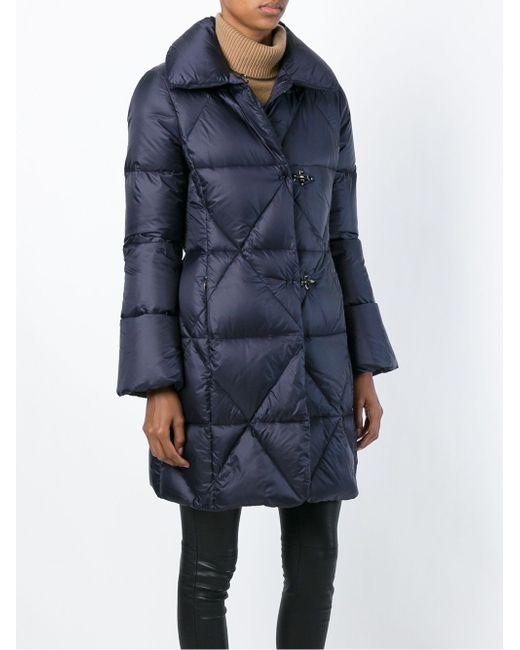 Дутая Куртка Fay                                                                                                              синий цвет