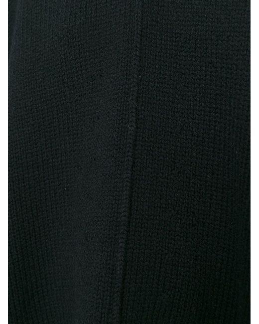 Свободный Свитер Valentino                                                                                                              чёрный цвет