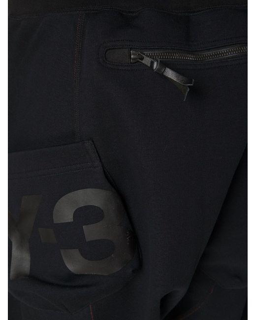 Спортивные Брюки С Заниженной Проймой Y-3                                                                                                              чёрный цвет