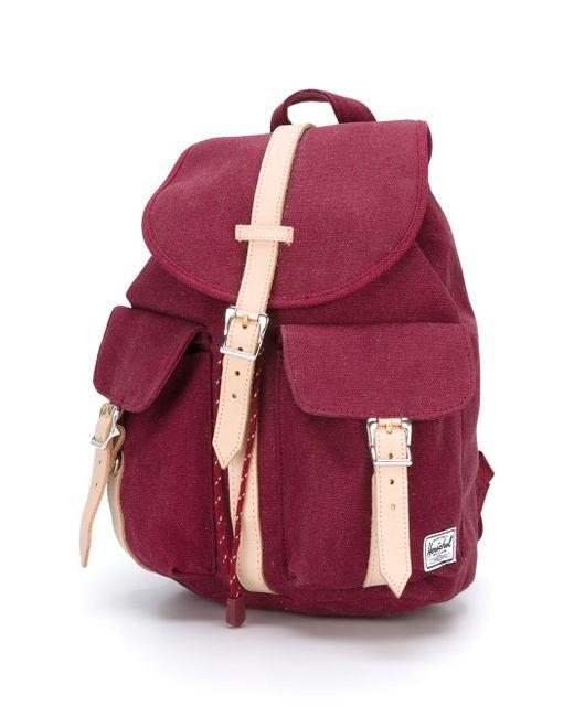Рюкзак Dawson Herschel Supply Co.                                                                                                              красный цвет