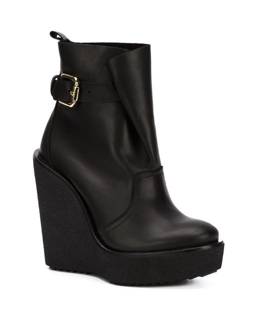 Ботинки На Танкетке Pierre Hardy                                                                                                              чёрный цвет