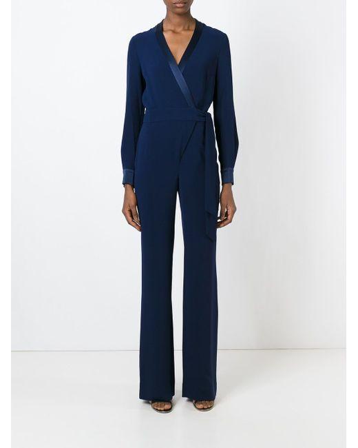 Комбинезон Margot Diane Von Furstenberg                                                                                                              синий цвет