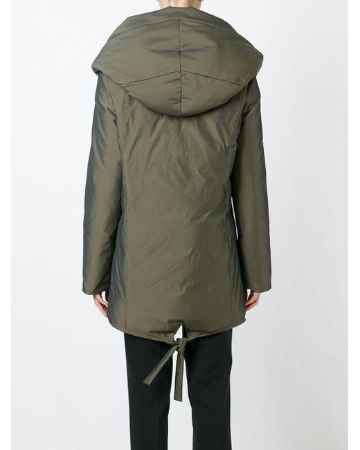 Дутое Пальто Со Смещенной Застежкой-Молнией Unconditional                                                                                                              зелёный цвет