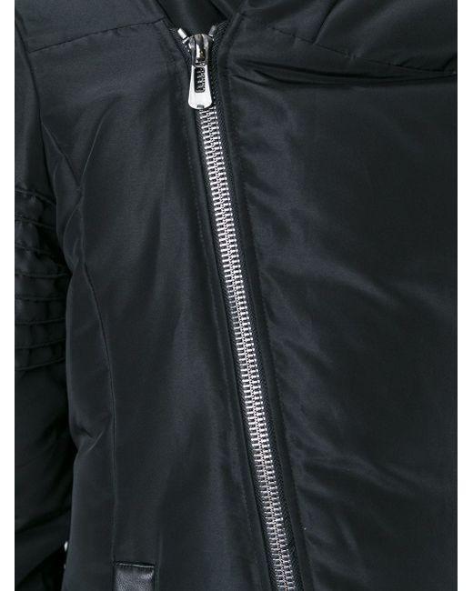 Дутое Пальто Со Смещенной Застежкой-Молнией Unconditional                                                                                                              чёрный цвет