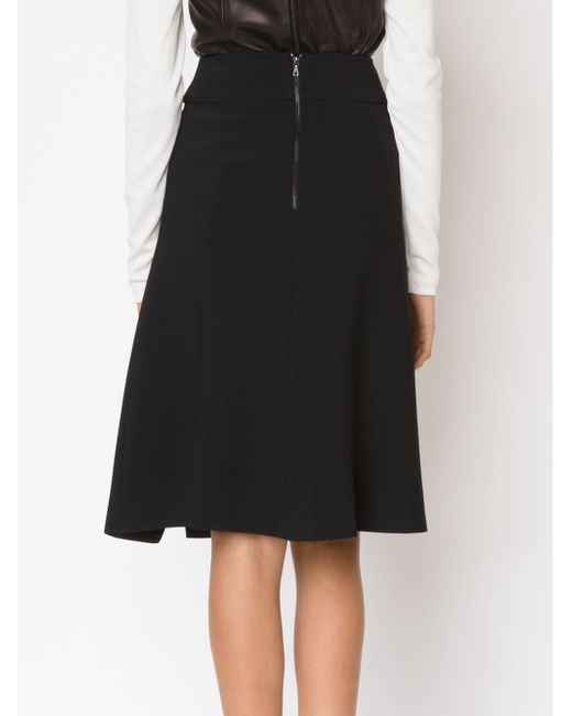 Side Slit Wrap A-Line Skirt Narciso Rodriguez                                                                                                              чёрный цвет