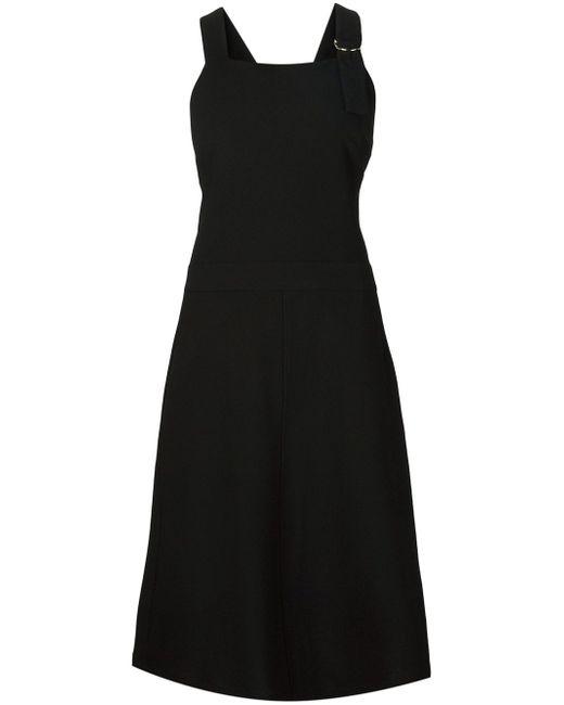 Платье С Перекрещенными Лямками На Спине NOMIA                                                                                                              чёрный цвет