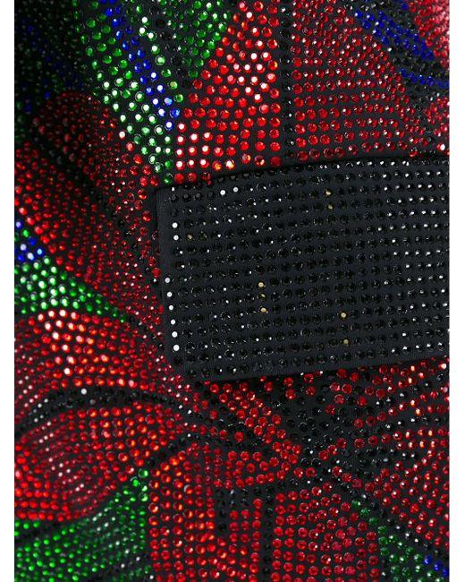 Декорированный Блейзер С Поясом Balmain                                                                                                              чёрный цвет