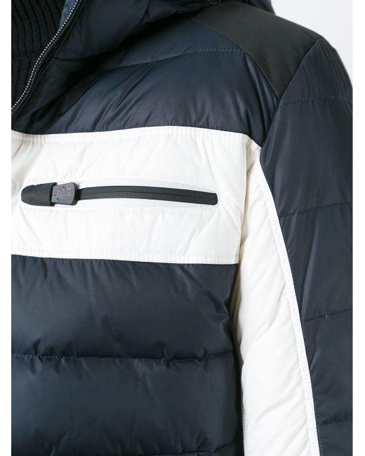 Дутая Куртка С Капюшоном Moncler Grenoble                                                                                                              синий цвет