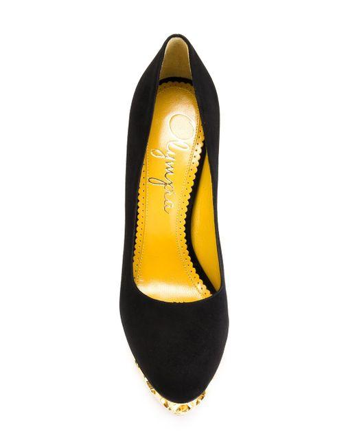 Туфли Objects Dart Charlotte Olympia                                                                                                              чёрный цвет