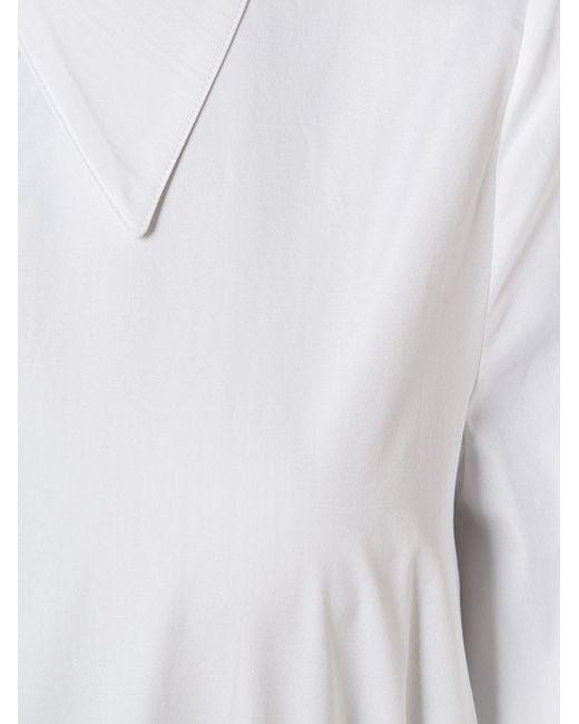 Oversized Collar Shirt AUDRA                                                                                                              белый цвет