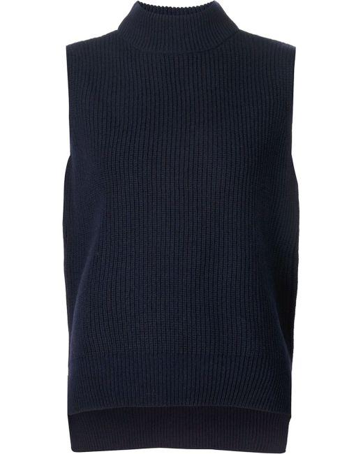 Безрукавка С Высоким Горлом YMC                                                                                                              синий цвет