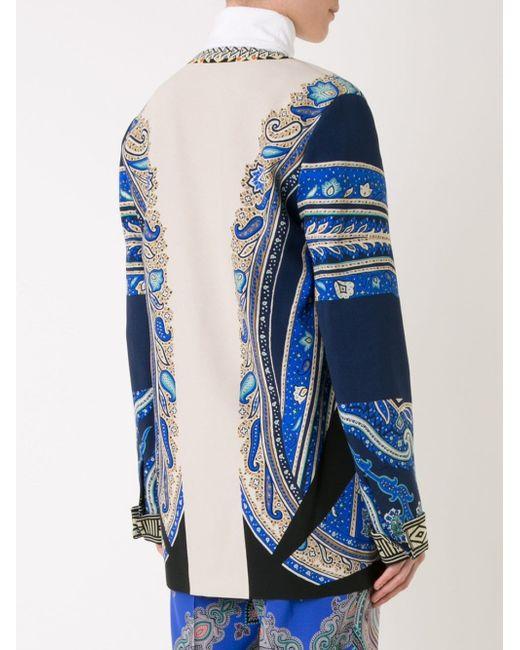 Paisley Print Jacket Etro                                                                                                              многоцветный цвет
