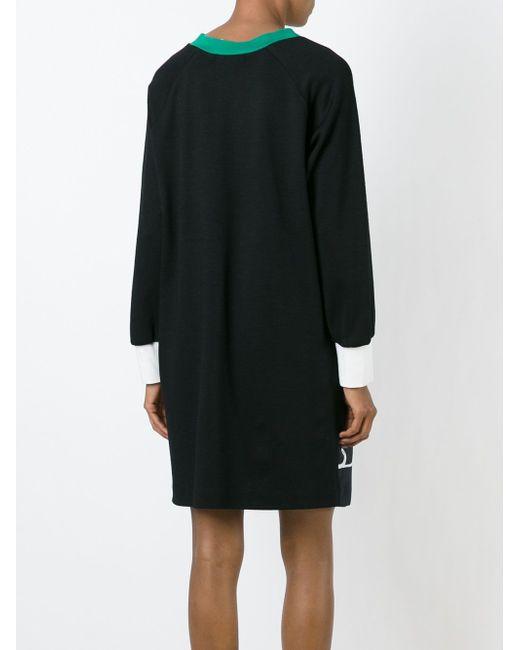 Платье-Шифт С Цветочным Принтом Tsumori Chisato                                                                                                              чёрный цвет