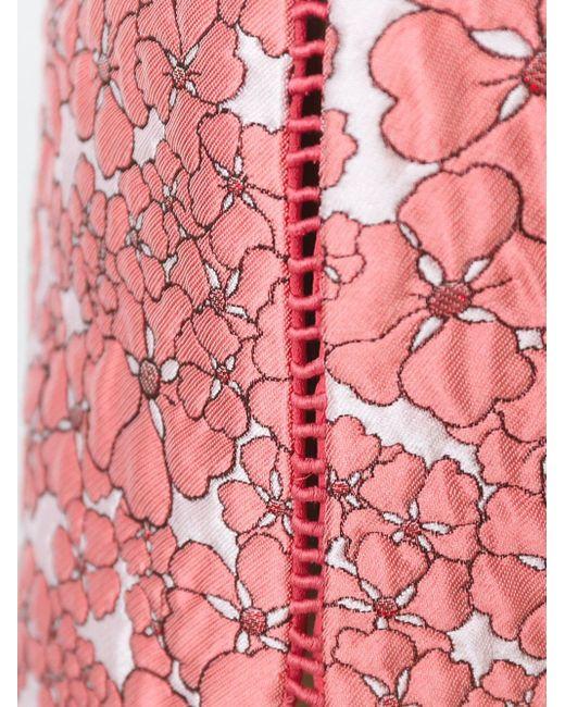 Жаккардовые Шорты GIAMBA                                                                                                              розовый цвет