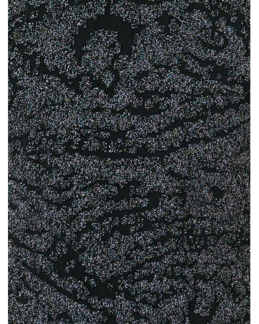Glitter Embellished Sweater Maison Margiela                                                                                                              чёрный цвет