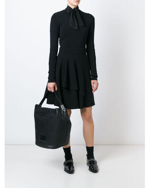 Сумка-Хобо New Q Marc by Marc Jacobs                                                                                                              чёрный цвет