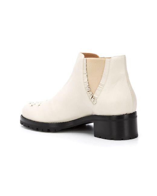 Tibi Boots Alexa Wagner                                                                                                              белый цвет