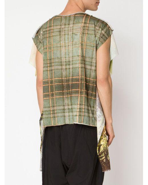 Длинная Футболка Vivienne Westwood                                                                                                              коричневый цвет
