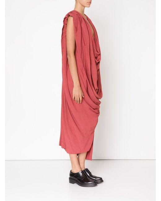 Драпированное Платье Rill Vivienne Westwood                                                                                                              желтый цвет