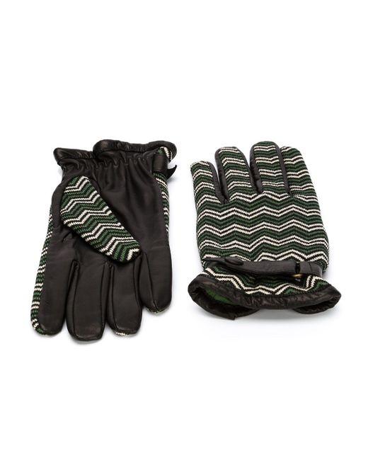 Перчатки С Узором Шеврон ORLEY                                                                                                              чёрный цвет