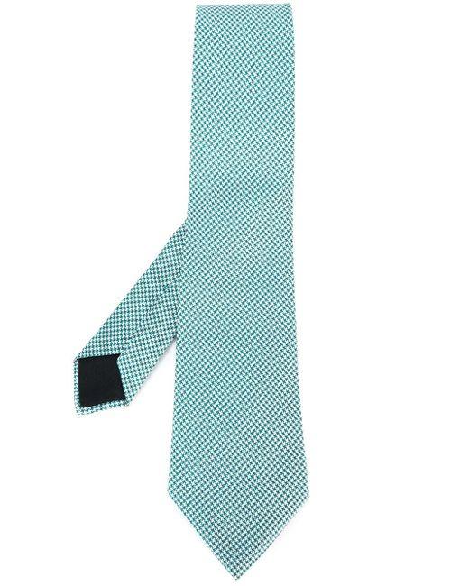 Print Tie Hermès Vintage                                                                                                              синий цвет