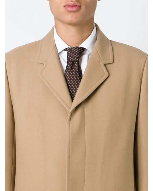 Галстук С Узором В Горох Hermès Vintage                                                                                                              коричневый цвет
