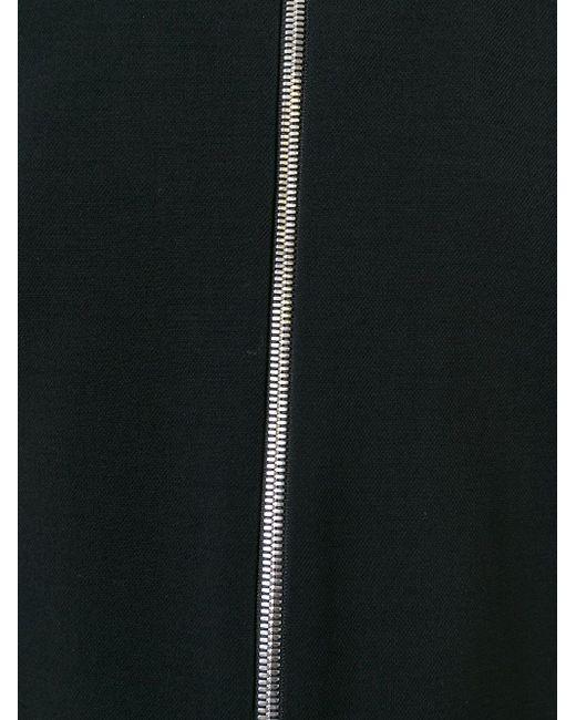 Платье-Шифт На Молнии Sonia Rykiel                                                                                                              чёрный цвет