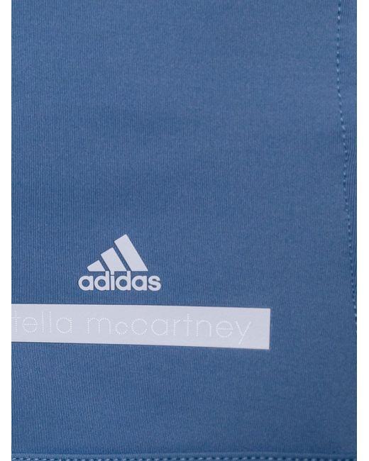 Футболка Run Perfect Adidas By Stella  Mccartney                                                                                                              синий цвет