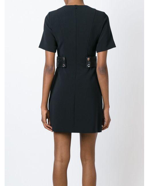 Платье С Круглым Вырезом И Поясом Michael Michael Kors                                                                                                              чёрный цвет
