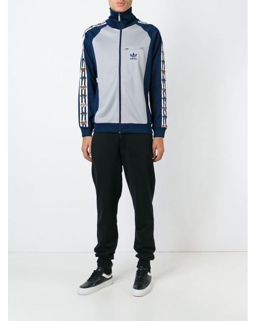Спортивная Куртка Adidas Original X Nigo adidas Originals                                                                                                              серый цвет