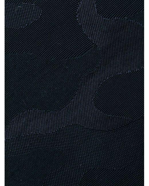 Жаккардовый Галстук С Камуфляжным Узором Neil Barrett                                                                                                              синий цвет