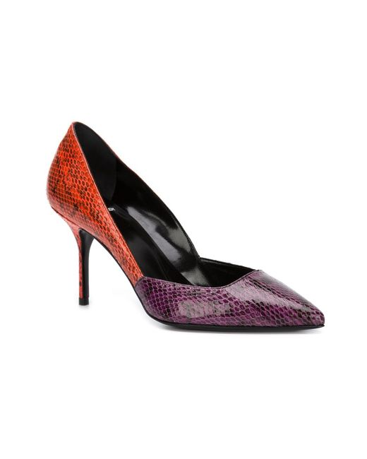 Pointed Toe Pumps Pierre Hardy                                                                                                              розовый цвет