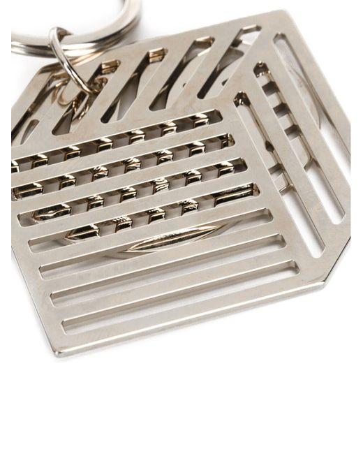 Брелок Для Ключей Геометрической Формы Pierre Hardy                                                                                                              серый цвет