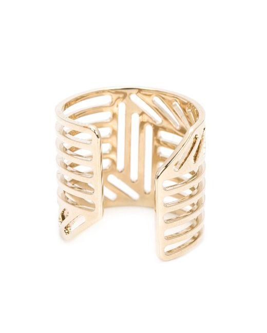 Кольцо С Геометрическим Дизайном Pierre Hardy                                                                                                              желтый цвет