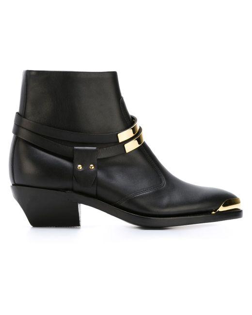 Ботинки По Щиколотку Balmain                                                                                                              чёрный цвет