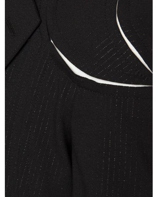 Блейзер С Вырезными Деталями COMME DES GARCONS HOMME PLUS                                                                                                              чёрный цвет