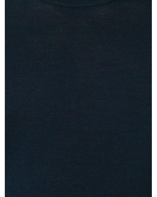 Свитер С Круглым Вырезом Michael Kors                                                                                                              синий цвет