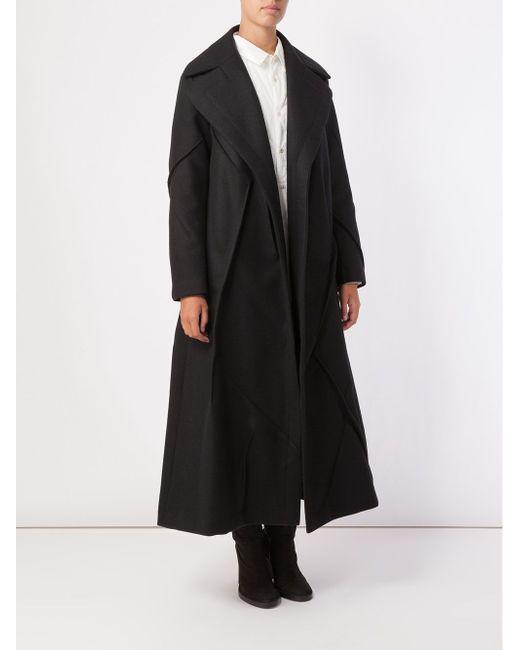 Oversized Coat Undercover                                                                                                              чёрный цвет