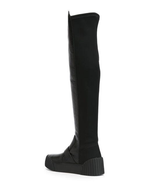 Сапоги С Панельным Дизайном Marc by Marc Jacobs                                                                                                              чёрный цвет