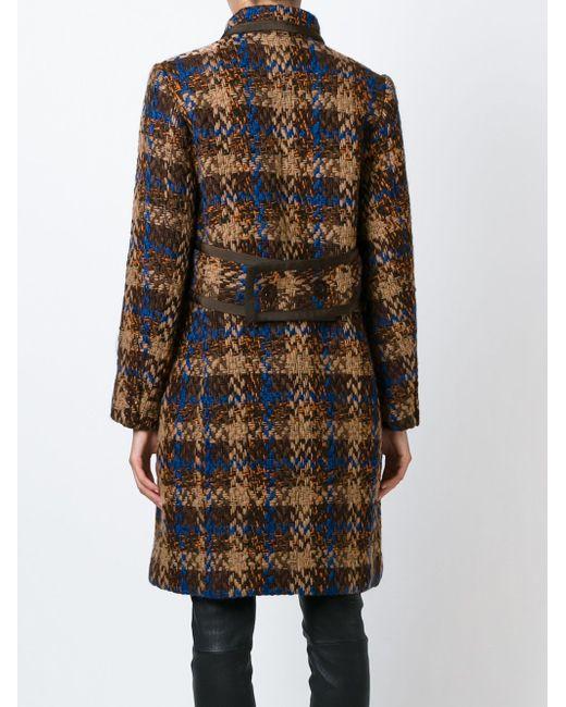 Tweed Coat Sacai Luck                                                                                                              коричневый цвет