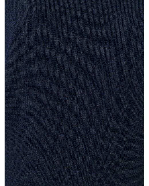 Толстовка C V-Образным Вырезом Golden Goose                                                                                                              синий цвет
