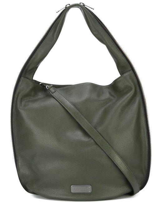 Сумка-Хобо New Q Zippers Hillier Hobo Marc by Marc Jacobs                                                                                                              зелёный цвет