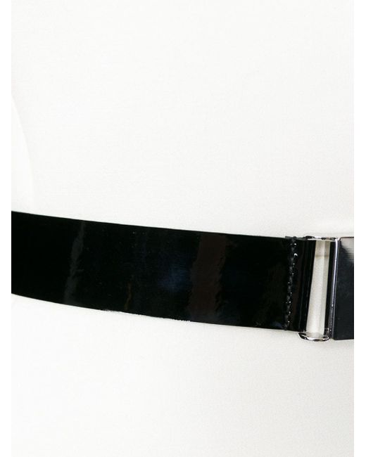Buckled Belt Flared Dress David Koma                                                                                                              Nude & Neutrals цвет