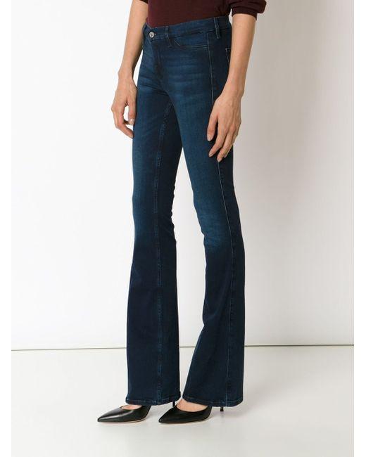 Расклешенные Джинсы Mih Jeans                                                                                                              синий цвет