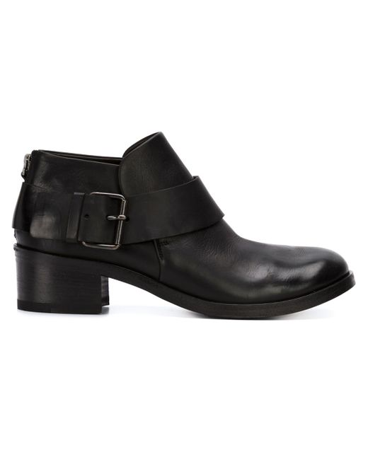 Buckled Ankle Boots Marsell                                                                                                              чёрный цвет
