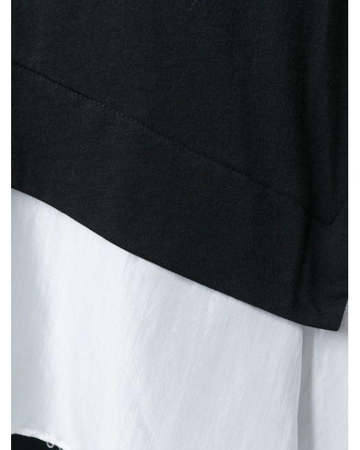 Асимметричный Топ Dkny Pure                                                                                                              чёрный цвет