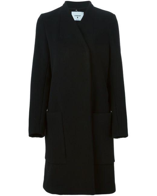 Двубортное Пальто Dondup                                                                                                              чёрный цвет