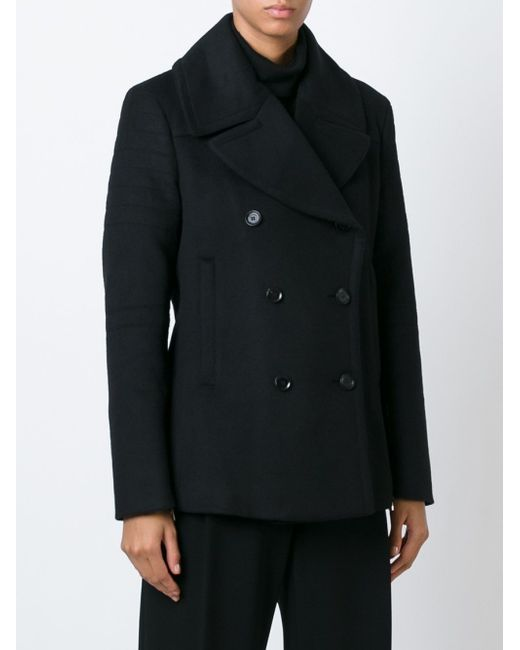 Double Breasted Jacket Belstaff                                                                                                              чёрный цвет