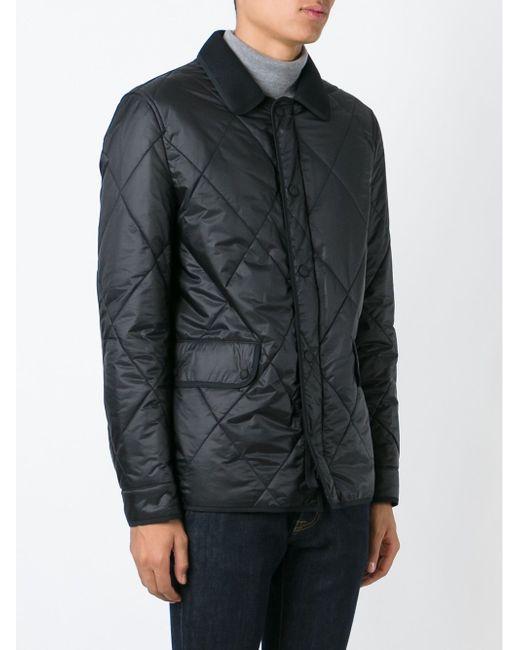 Стеганая Куртка Burberry Brit                                                                                                              чёрный цвет