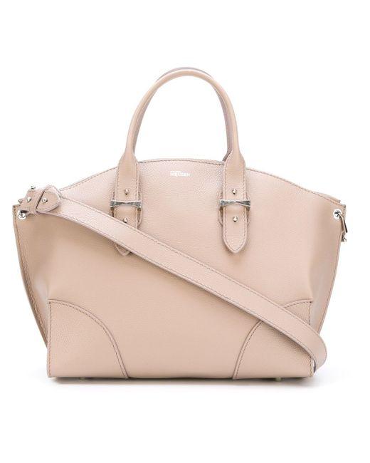 Сумка-Тоут Legend Alexander McQueen                                                                                                              розовый цвет